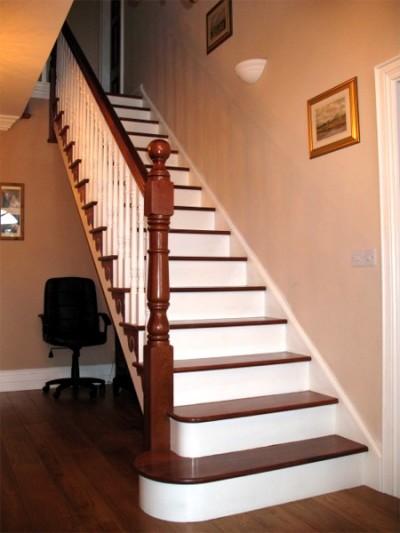 mahogany staircase Gallery